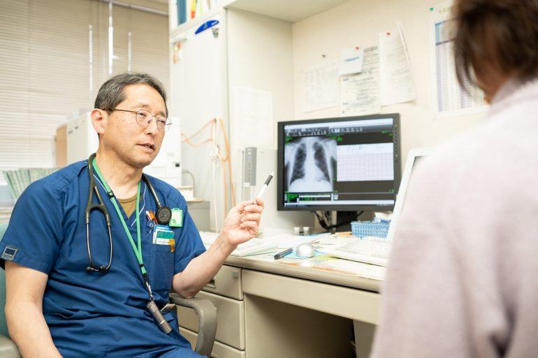 鎌田内科クリニック様診療風景|岩手県盛岡市でホームページ制作は株式会社MIRAIZU