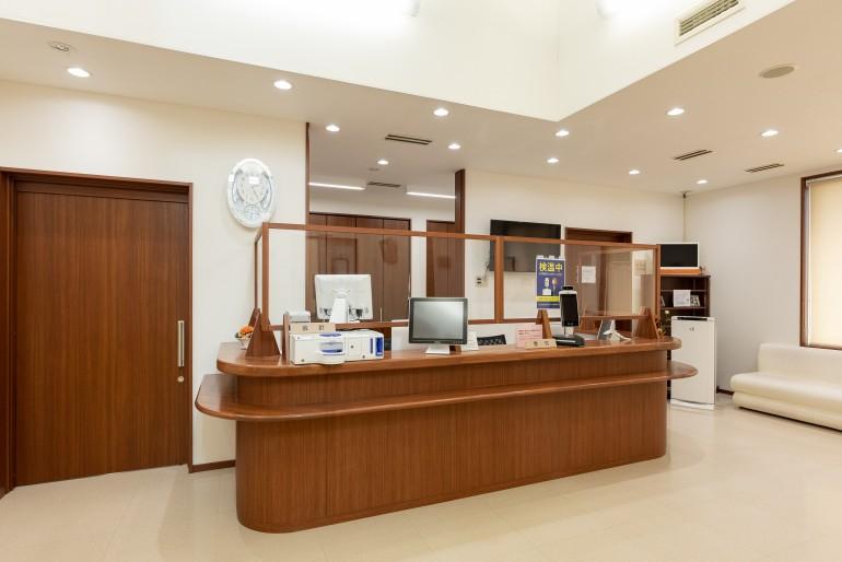 ちば耳鼻咽喉科クリニック受付 岩手県盛岡市でホームページ制作はMIRAIZU